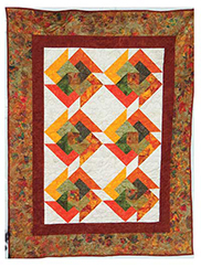 How to Quilt - Shadow Box Quilt Pattern Tutorial - YouTube